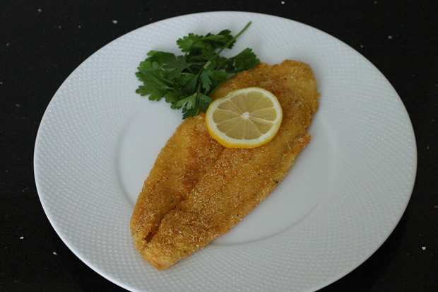 Pan fried swai with lemon and garlic portunus group for Swai fish fillet
