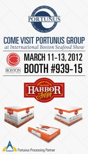 Boston Seafood show 2012